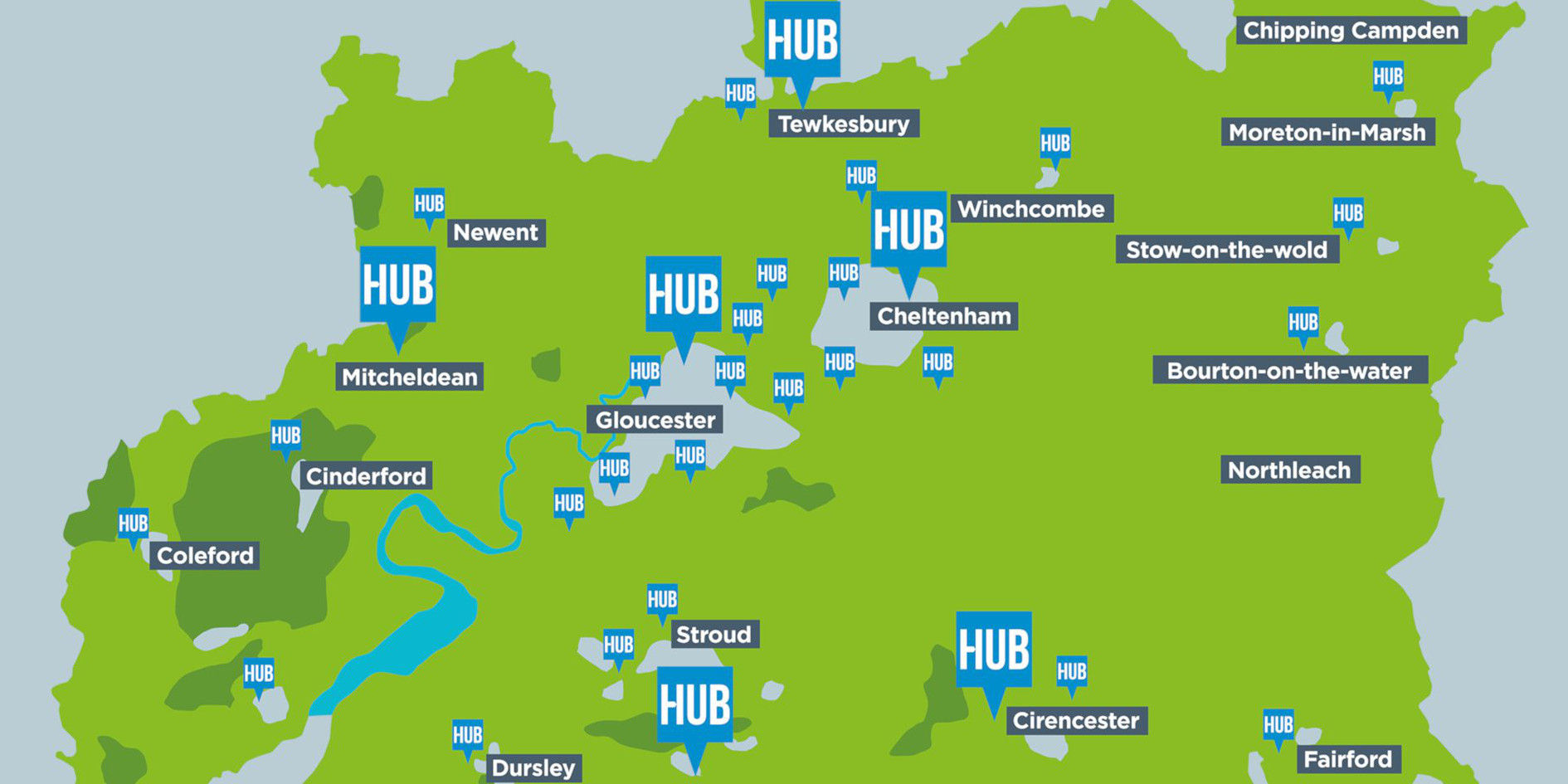 Find Your Nearest Hub
